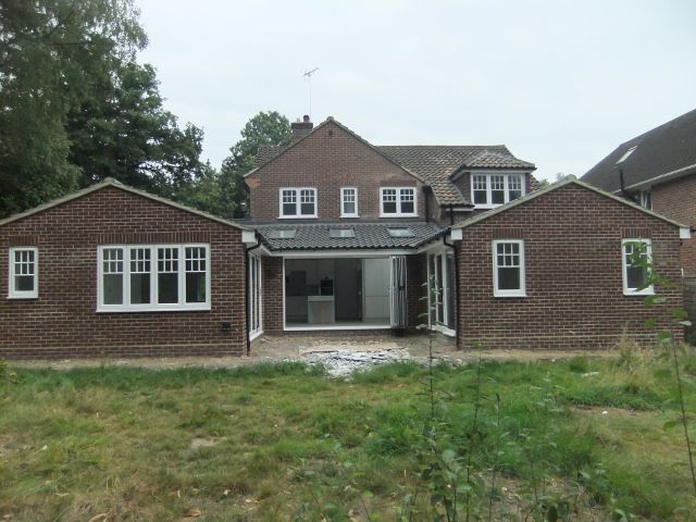 House extension and alterations in Camberley, Surrey AFTER