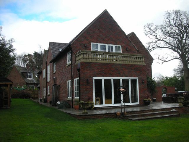 House extension and alterations in Fleet Hill, Finchamstead, Berkshire AFTER