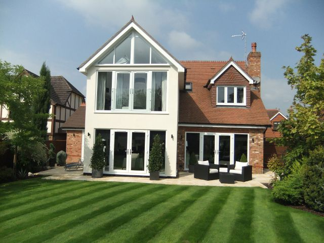 House extension and alterations in Oxford road, Wokingham, Berkshire AFTER