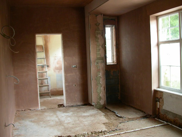 Inside period property BEFORE