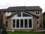 House extension with bi-fold doors in Wokingham