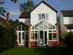 Conservatory style single storey rear extension, Park road, Camberley