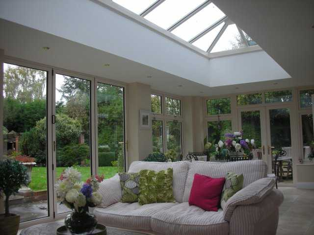 Maiden Erleigh House Extension and Refurbishment, including roof lanterns and orangery AFTER