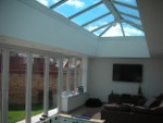 House extension with vaulted roof in Camberley